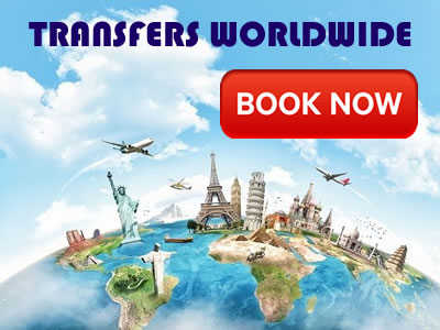 book airport transfers worldwide